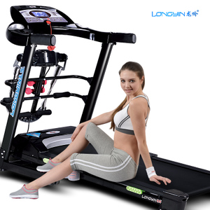 龙吟LY818跑步机正品 家用 电动 折叠特价 超静音 多功能健身器材