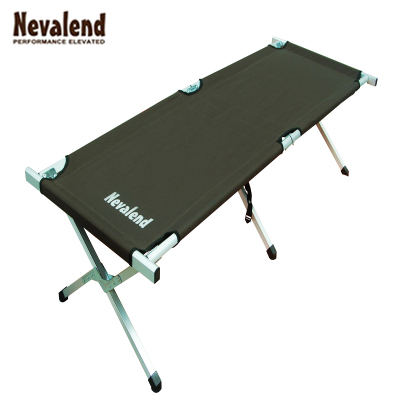 Nava Rand aluminum alloy camping outdoor leisure outdoor portable folding camp bed bed bed Fishing