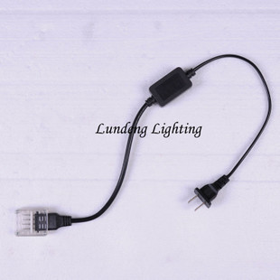 Lamp lighting lamps LED Rainbow tube light lamp with plug with flat-wire power cord