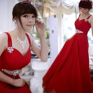 Luxury style elegant and charming beauty of MaxMara gentle Korean style wedding gown 2012 new tape