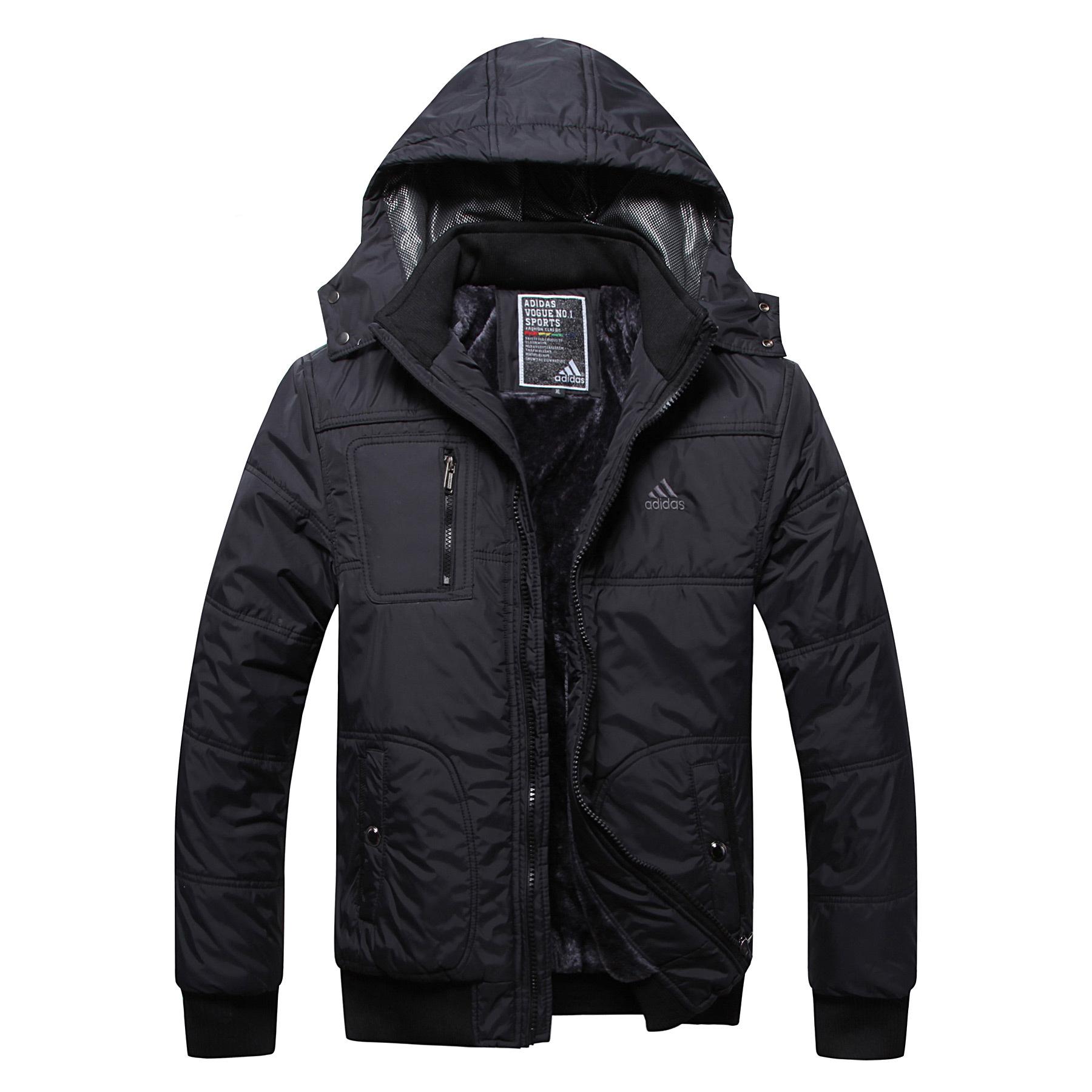 Куртка Adidas 0066 Длинная модель (длина одежды ниже середины бедра)
