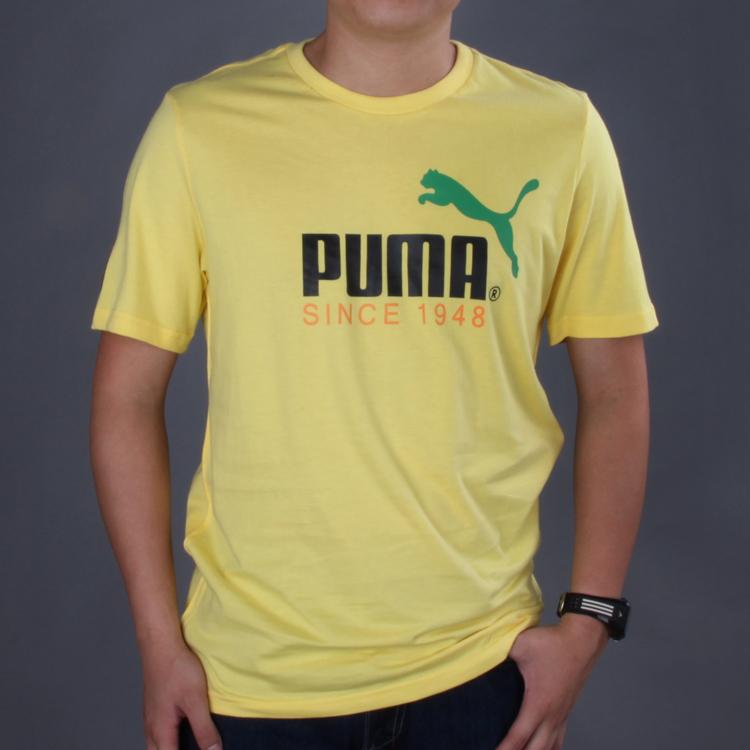 Спортивная футболка Puma 557353 03 5.5 Стандартный Воротник-стойка 100 Воздухопроницаемые, Светоотражающие, Влагопоглощающая функция, Защита от UV, Суперэластичность, Быстросохнущие, Камуфляж, Защита от насекомых, Ультралегкий С логотипом бренда