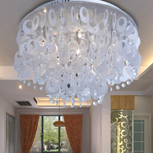 Modern fashion creative Crystal lighting round  living room bedroom ceiling lamp lamps light  Hall one thousand three hundred and eighty one-sixths