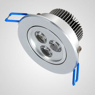 Niu Deng power of 3W LED spot lights complete set down light spot light ceiling lamp aluminium integrated lens ND-S003