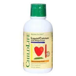 千万好评美国Childlife童年时光成长营养液 宝宝婴幼儿童补钙镁锌