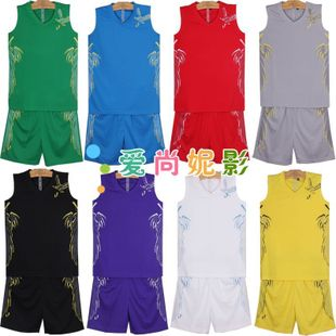New genuine children's basketball suits suit students ' kids basketball games basketball clothing clothing clothing shorts liners