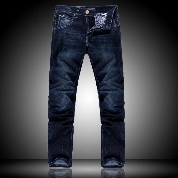 Джинсы мужские Dg 2012 Прямые брюки Английский стиль