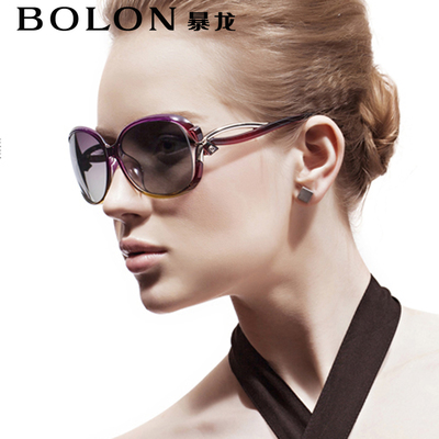 BOLON Tyrannosaurus retro fashion sunglasses sunglasses female star of the same paragraph polarized sunglasses tide BL2229