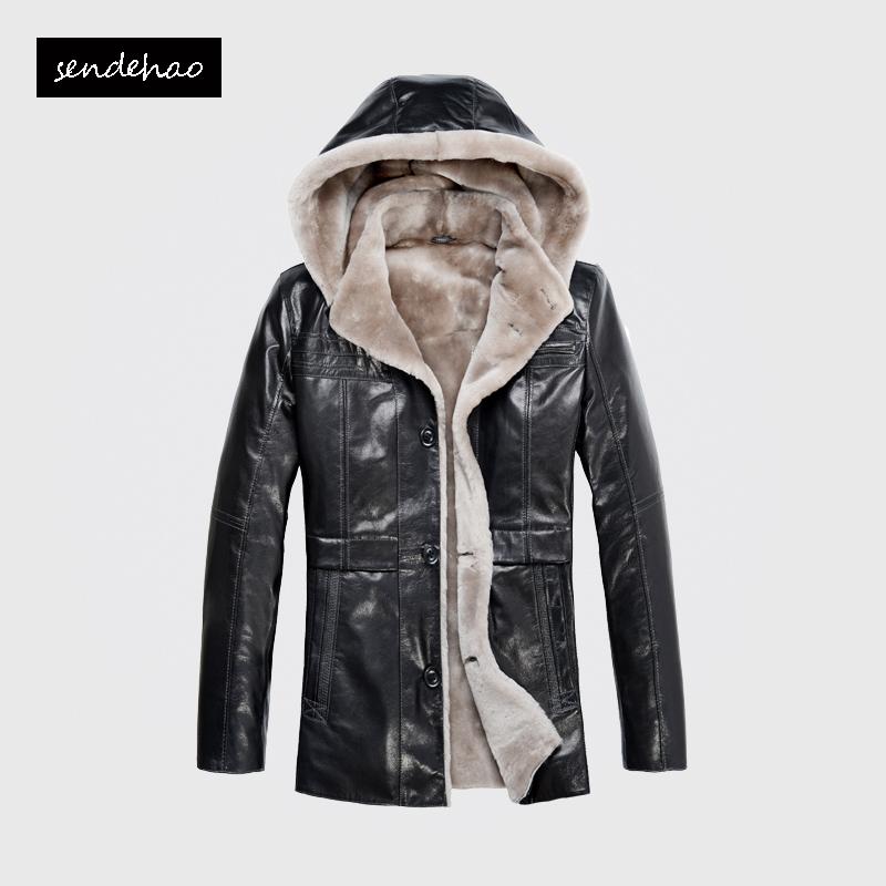 Одежда из кожи Sendehao 3516