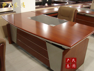Premium cherry wooden desk 1.8 m table owner table solid wood paint simple and modern furnishings