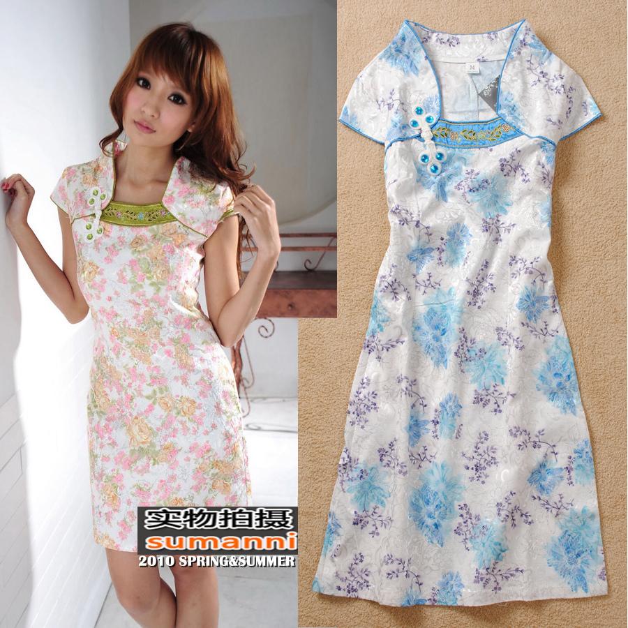 Платье Ципао  9376 Cheongsam 2012 QP18
