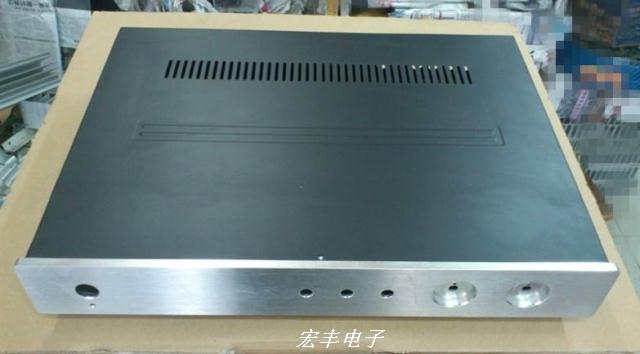 Корпус Amplifier chassis  DIY 430*60