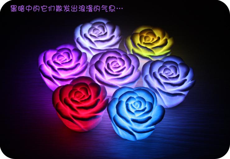 Оригинальный подарок Смайлик красочные ночник лучшие творческие подарки красиво красочная Роза легкие Романтические Подарки