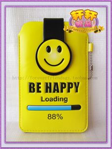 特价iphone/三星/htc/nokia/索尼S系列be happy PU手机袋