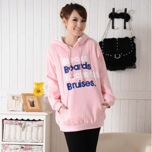 Add your child Korean thick high quality cotton for pregnant women maternity dresses spring clothing coat coats nursing