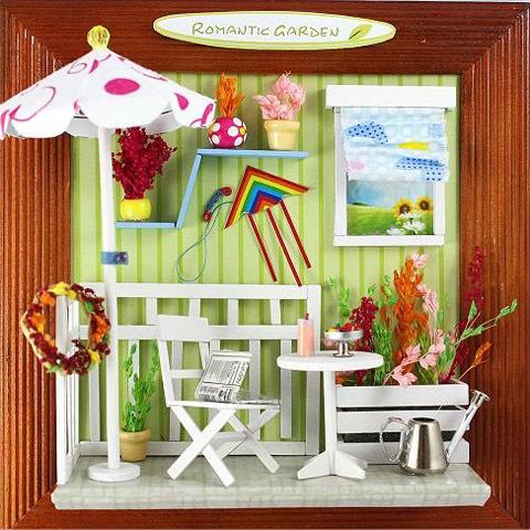 Цвет: 23 романтическом саду