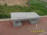 花岗岩公园别墅小区简约小石凳 长条椅 石桌 量大从优
