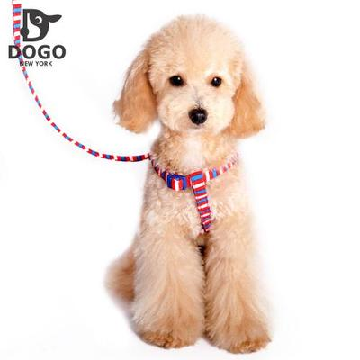 DOGO will dog the new tri-color suede leash dog clothes pet clothing options out there supporting harness