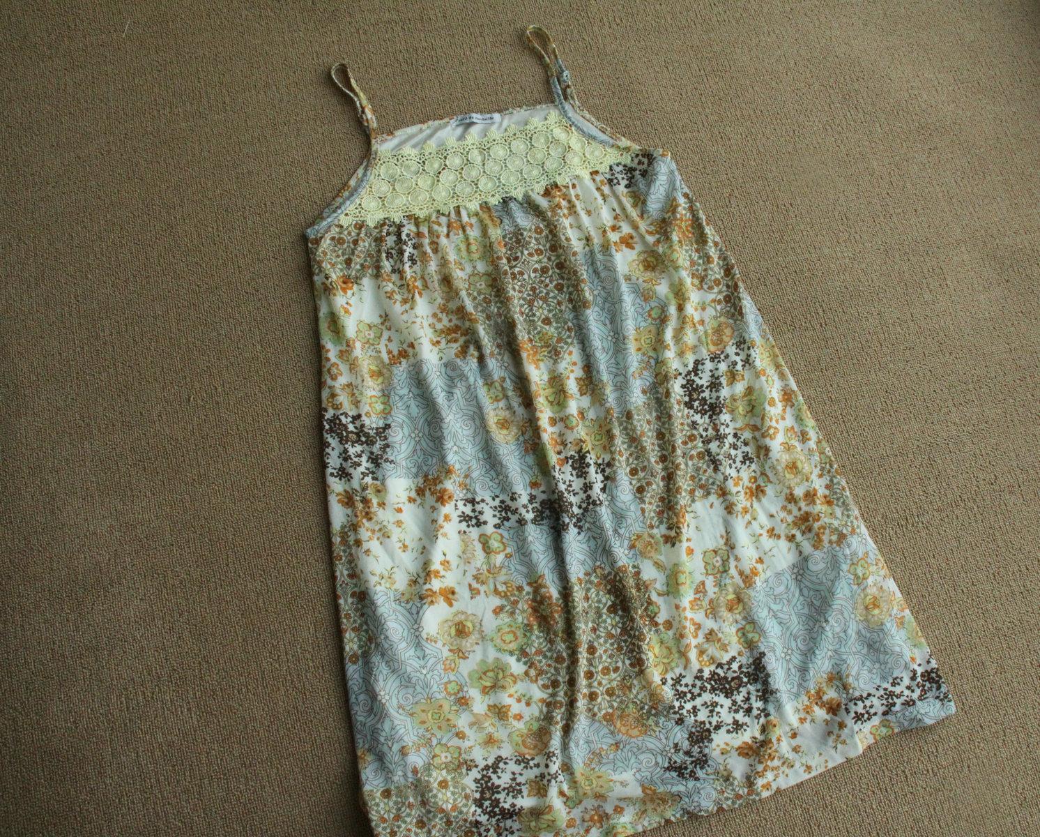 Женское платье Ребята распродажа. Одна лямка цветочные платья (недостаток)