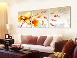 Lan in accordance with Decorative painting the living room sliding meter box meter box distribution box sliding frameless painting art dolphin Single Specials