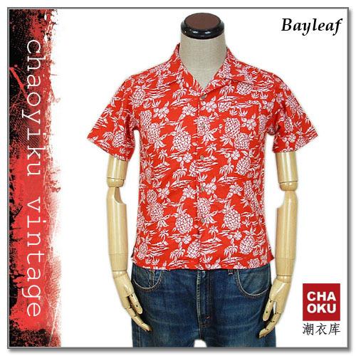 женская рубашка Bayleaf SIZE:150 Другой стиль Короткий рукав Рисунок в цветочек Отложной воротник Один ряд пуговиц