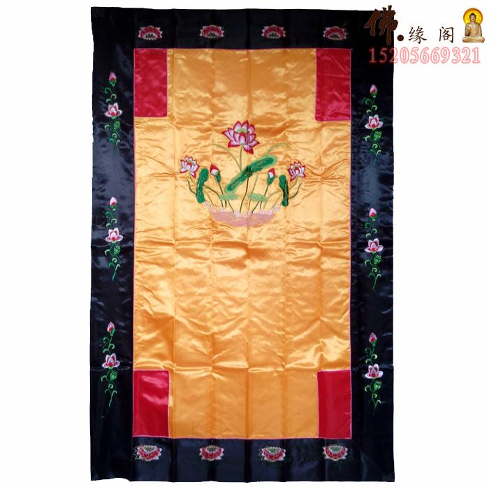 custom 1.5 M Buddhist supplies flower\/Buddha Hall embroidery flower\/9 lung\/Buddha Tsurugaoka Hachimangu Shrine Longmen Buddhist posting custom