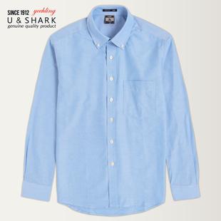 优鲨冬装保暖长袖衬衫