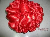结婚用品批发拦门口花球大红花传统新郎接新娘用的纯手工花球999
