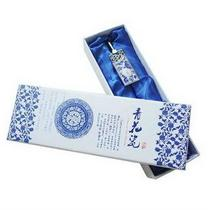 Wen yuange teacher Confucius bookmark genuine blue-and-white porcelain really creative send teacher features arts and crafts