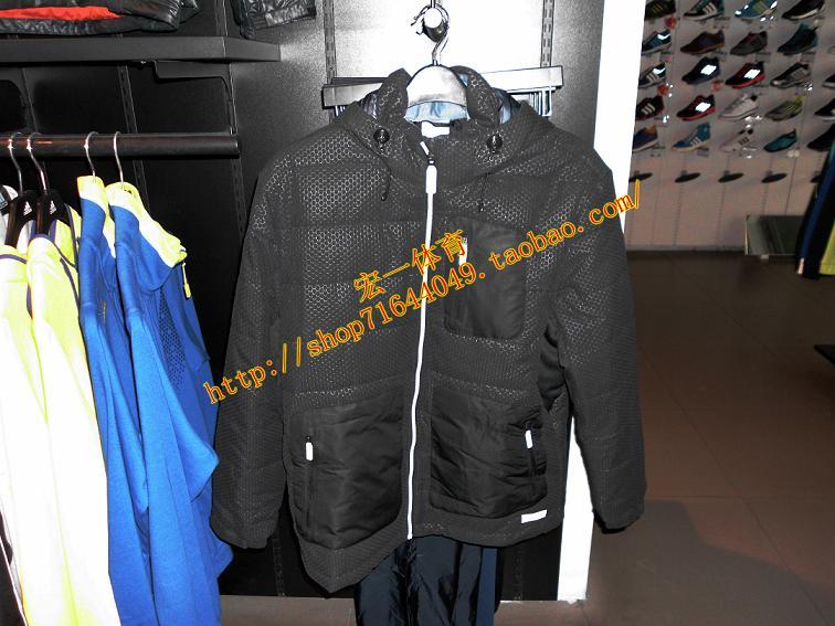 Спортивная куртка Adidas z00470 Для мужчин Воротник с капюшоном Молния Логотип бренда