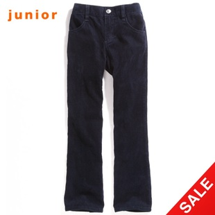 Snap up limited edition Giordano metal embroidered corduroy pants girls casual pants 03410537