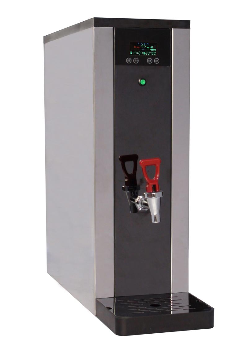 荣美达步进式开水器 不锈钢商用电热开水机 饮水机 15L 供应30人