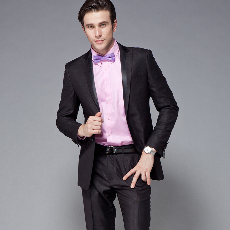 12 autumn new romon suit men suit business and leisure korean version of the slim professional dress suit jacket ds20010