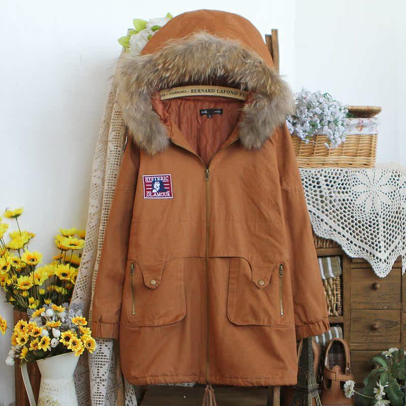 Женская утепленная куртка 8581 -0.99 2012 Прямой Длинный рукав Осень 2012
