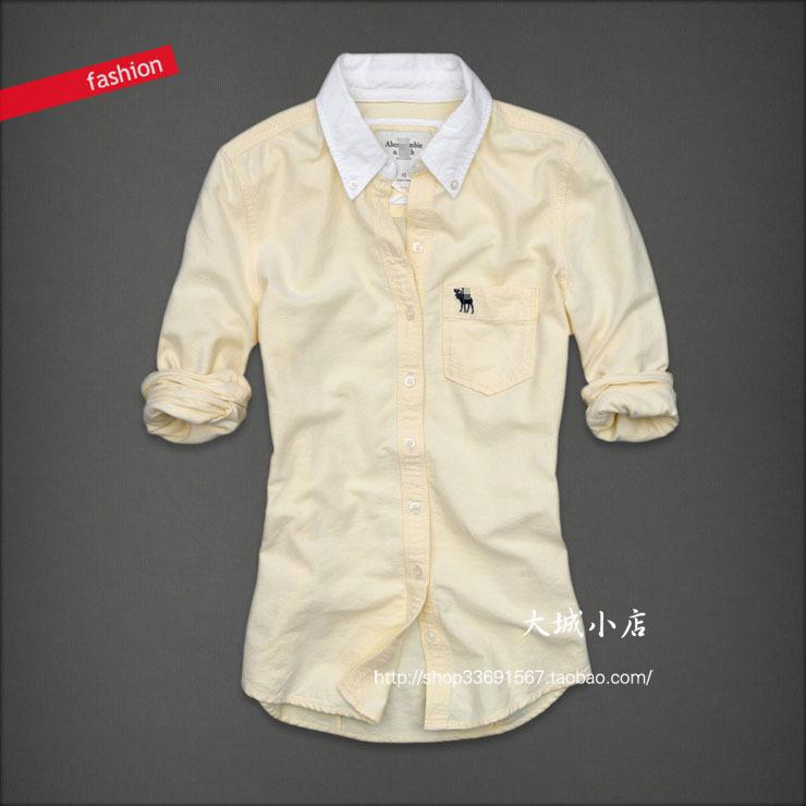 женская рубашка Af EDDY 68 Городской стиль Длинный рукав