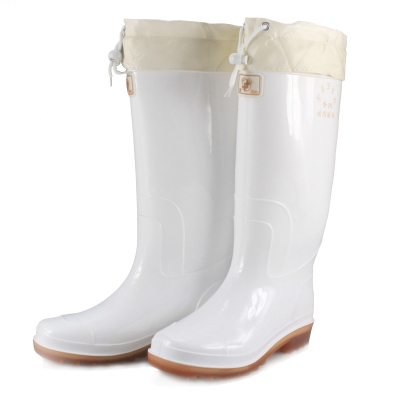 Men binary plus food hygiene boots boots men's cotton warm rain boots Tall acid and alkali TH9926-1