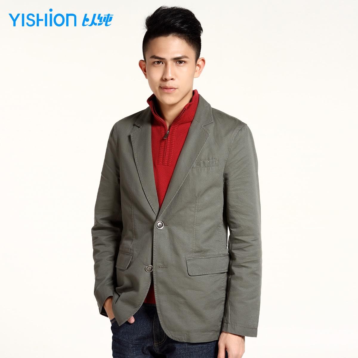 Куртка Yishion # 11311165 11311165 269 Хлопок Костюмный воротник