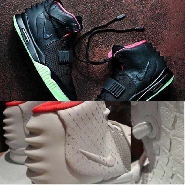 баскетбольные кроссовки Nike # 1632501 # 177226759 CLN Air Yeezy До 2009 Универсальная