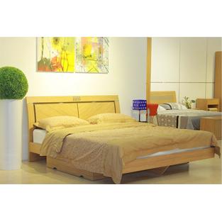 万力家具板式床双人床1.8/1.5米家具现代简约能讲价多少特价买图片