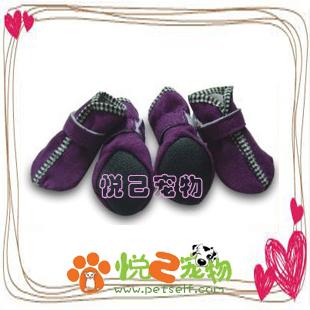Обувь для собак Бархатные туфли * обувь * собака ПЭТ обувь