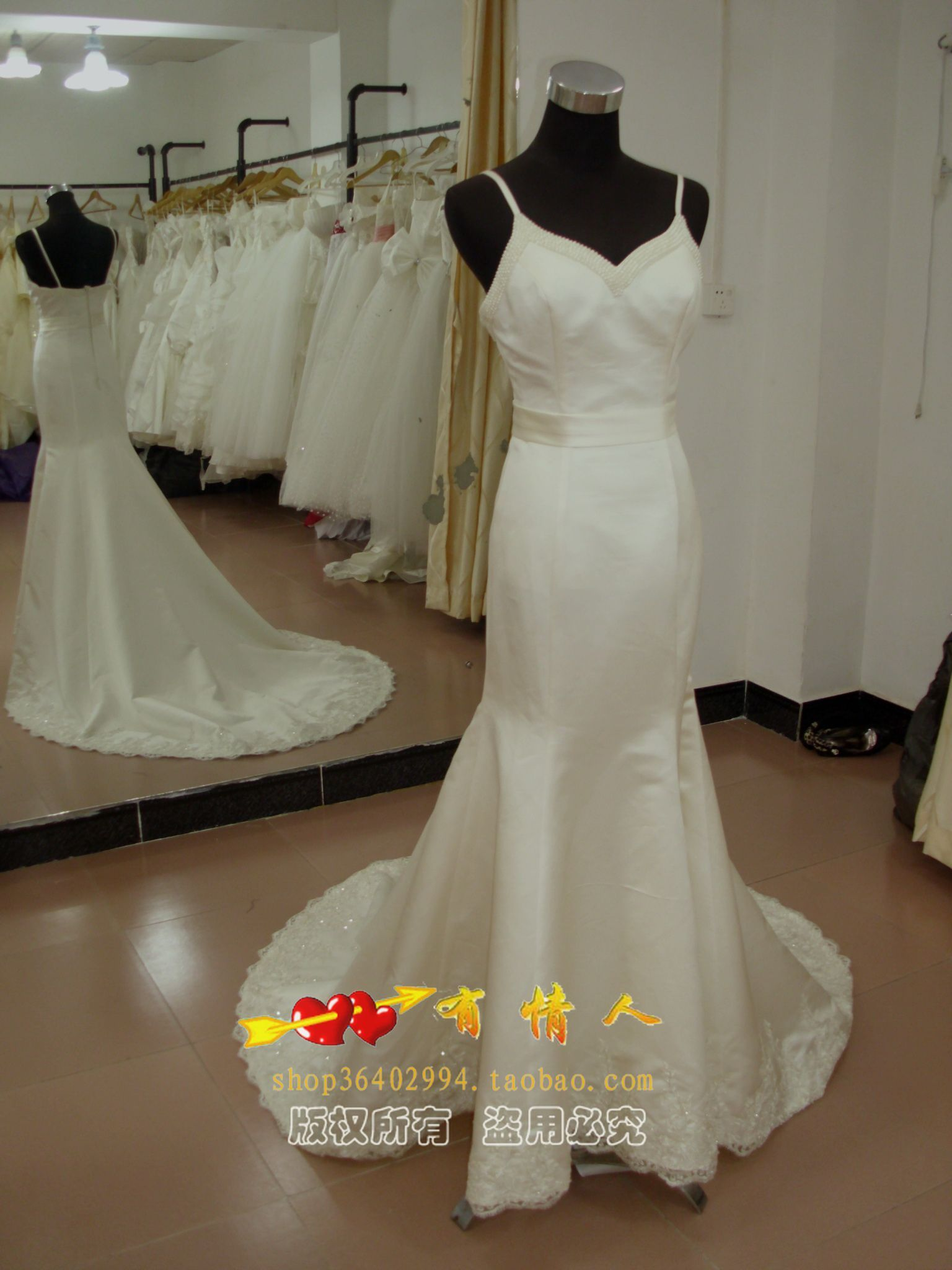 Свадебное платье Lovers -/395 Плотная ткань Русалочий хвост