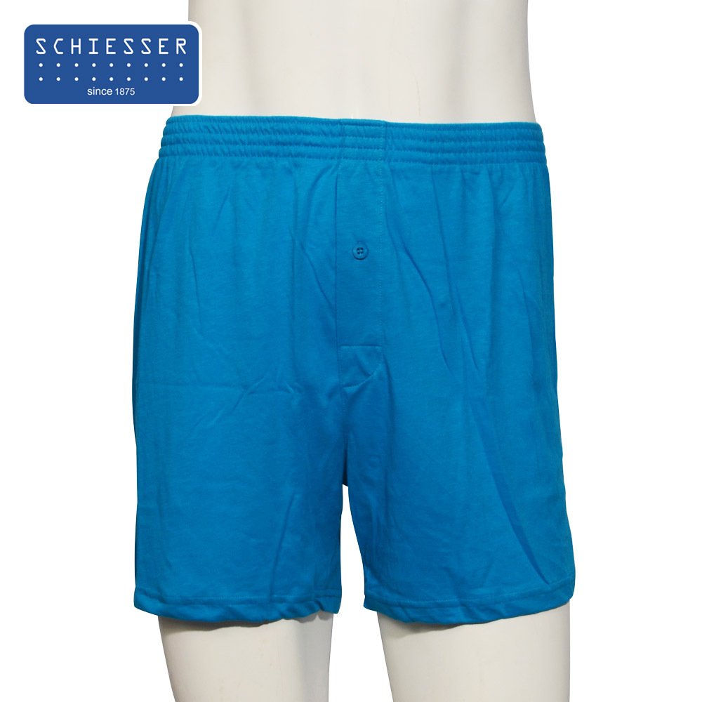 Пижамные штаны Schiesser 39/1578X Муж. Хлопковый трикотаж Хлопок Однотонный цвет Простой (повседневный) стиль Лето