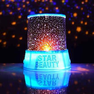 七夕节送男友送女友创意礼品家居生活用品省电实用新奇星空投影灯