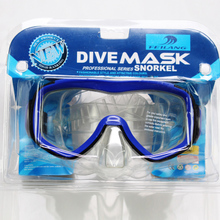 2015 flying Wolf big box swimming goggles swimming goggles single lens equipped with adult diving goggles