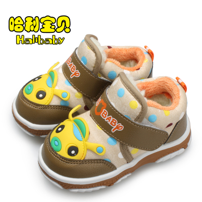 Harry baby baby cotton-padded shoes winter section 1-2-3 year old male infant toddler shoes soft bottom shoes female children