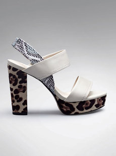 Dream Basha crude with high leather Sandals shoes Leopard new 2012 122,512,222