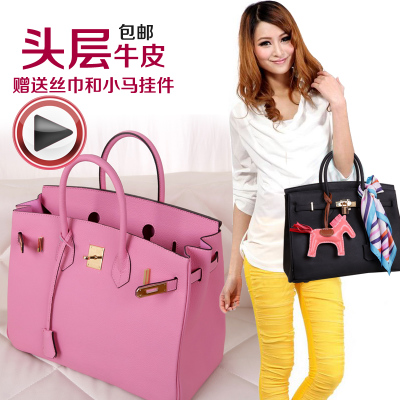 Seiko 2015 in Europe and America at the forefront TOGO cowhide embossed platinum leather hand bag fashion handbags handbags