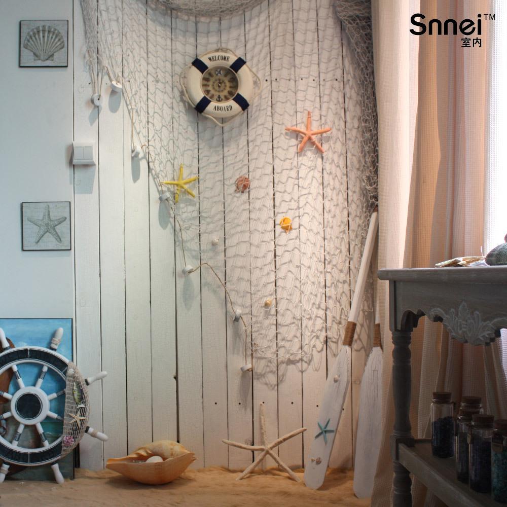 室内 创意家居大渔网装饰 地中海风格 家饰墙壁挂饰 酒吧装饰壁饰图片