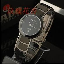 Real sapphire crystal face of tungsten steel sheet thin male models in Table