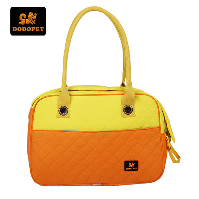 European and American fashion feather surface outcrops portable package pet dog bag bag bag bag cat bag packed